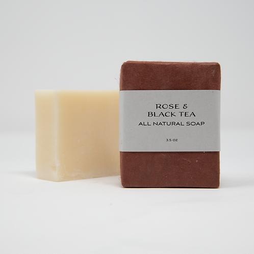 Rose & Black Tea Soap