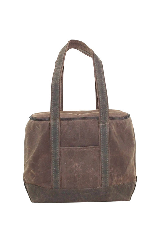 Waxed Canvas Large Lunch Bag