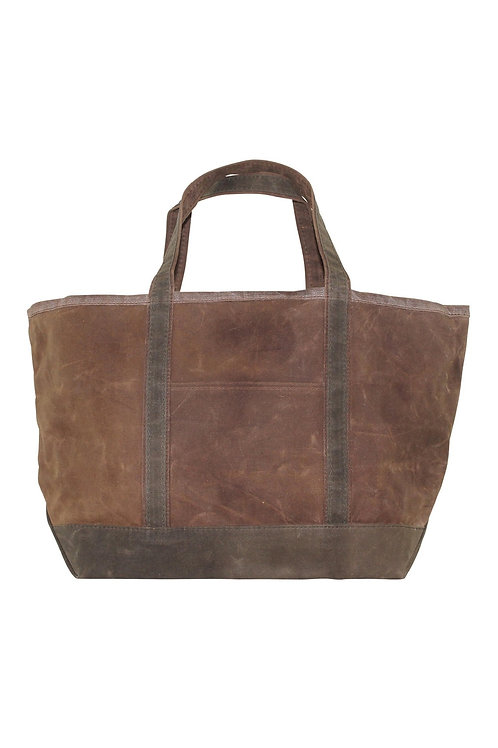 Waxed Canvas Large Boat Tote