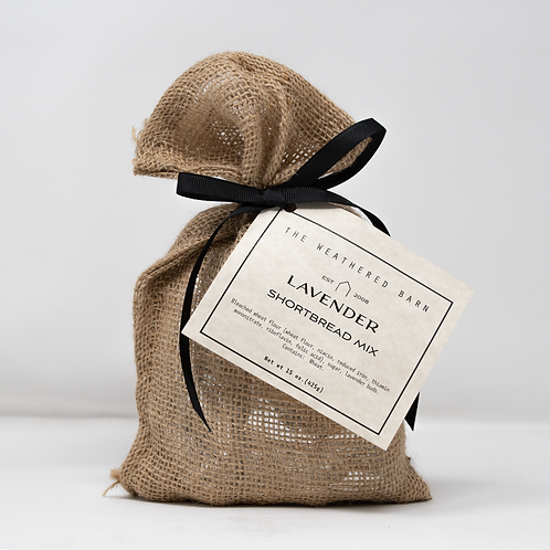 Lavender Shortbread Mix