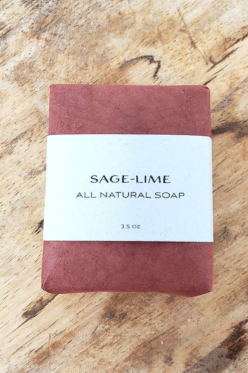 Sage - Lime Soap