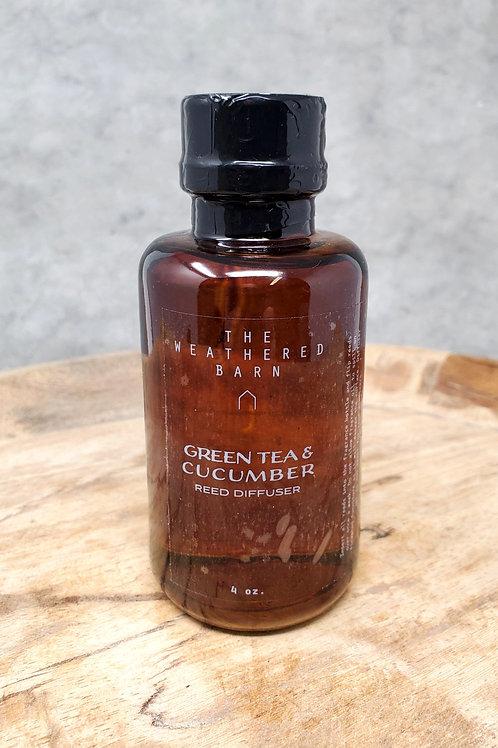 Green Tea & Cucumber Reed Diffuser