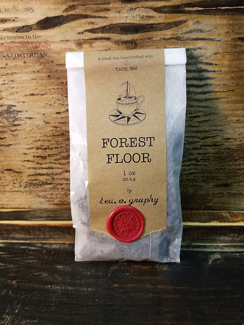 Organic Forest Floor Tea {black}