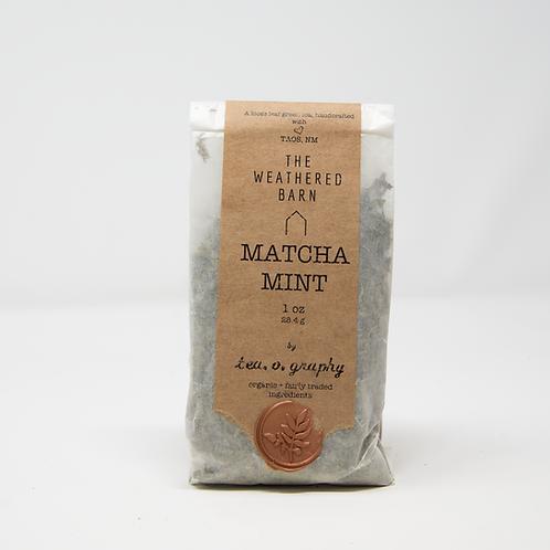 Organic Matcha  Mint {green}