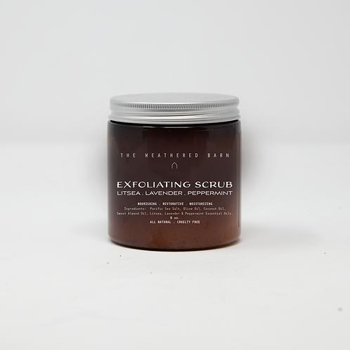 Litsea-Lavender-Peppermint Exfoliating Scrub
