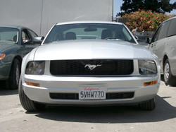 Mustang after