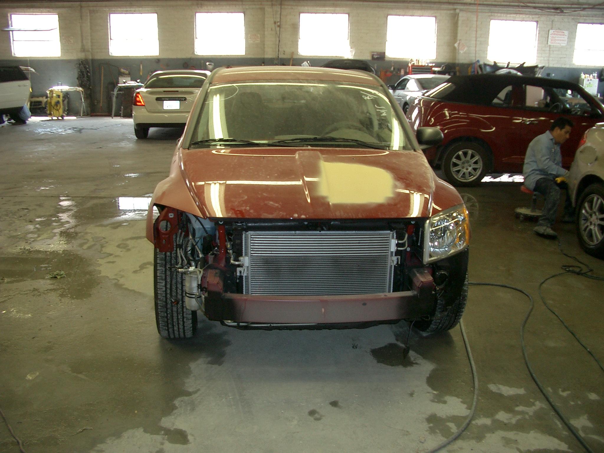 Dodge work in progress