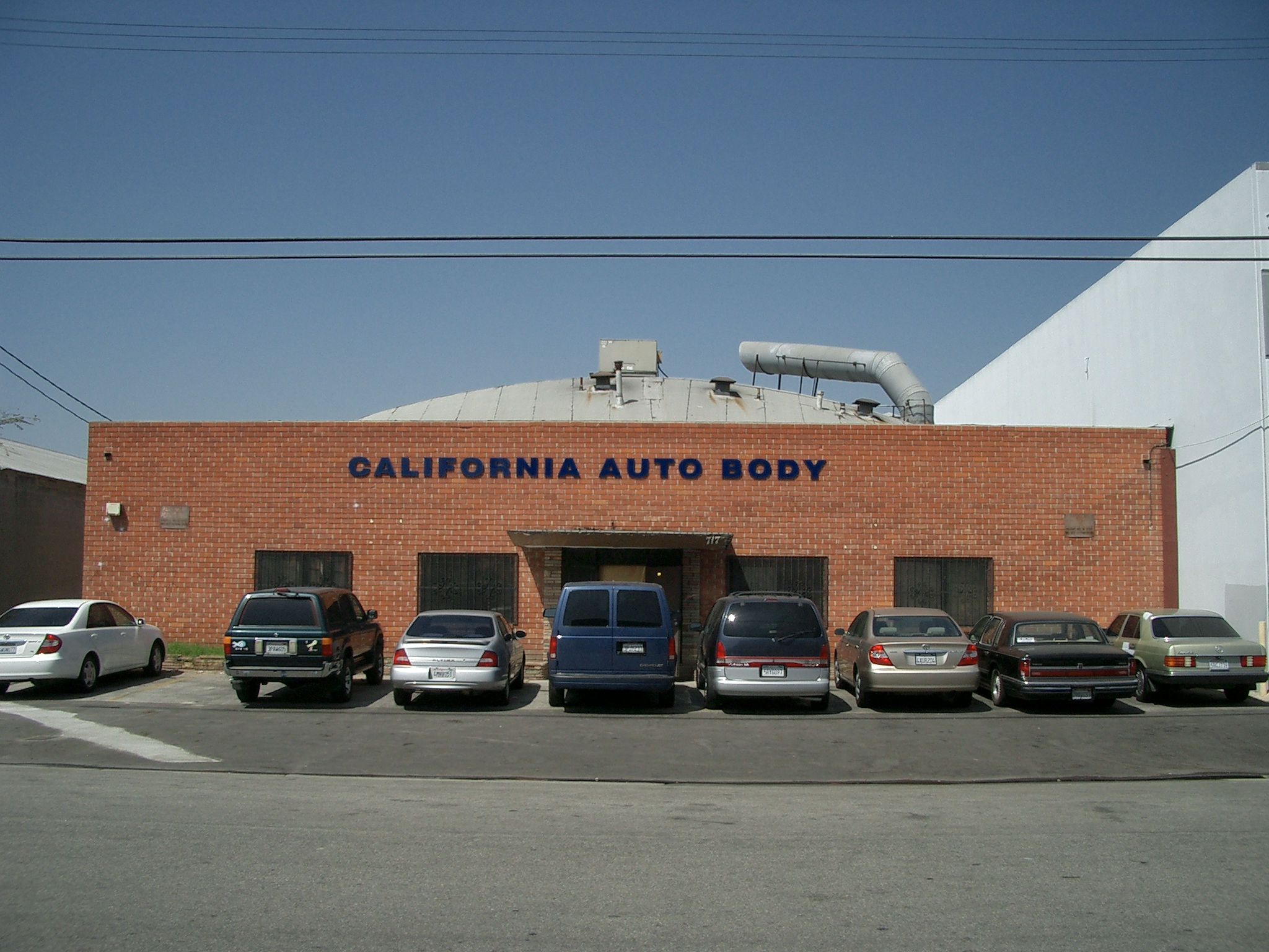 California Auto body street view