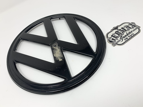 VW Typ 2 Early Bay Window Metal Front Badge