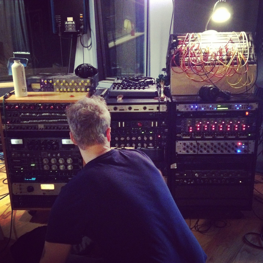 Tracking guitars at DNA with Mark Whitcomb