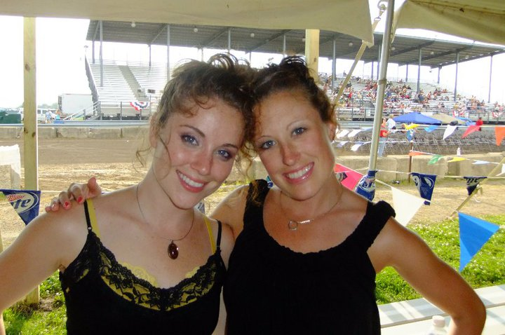 Sister Love after playing the Jefferson County Fair