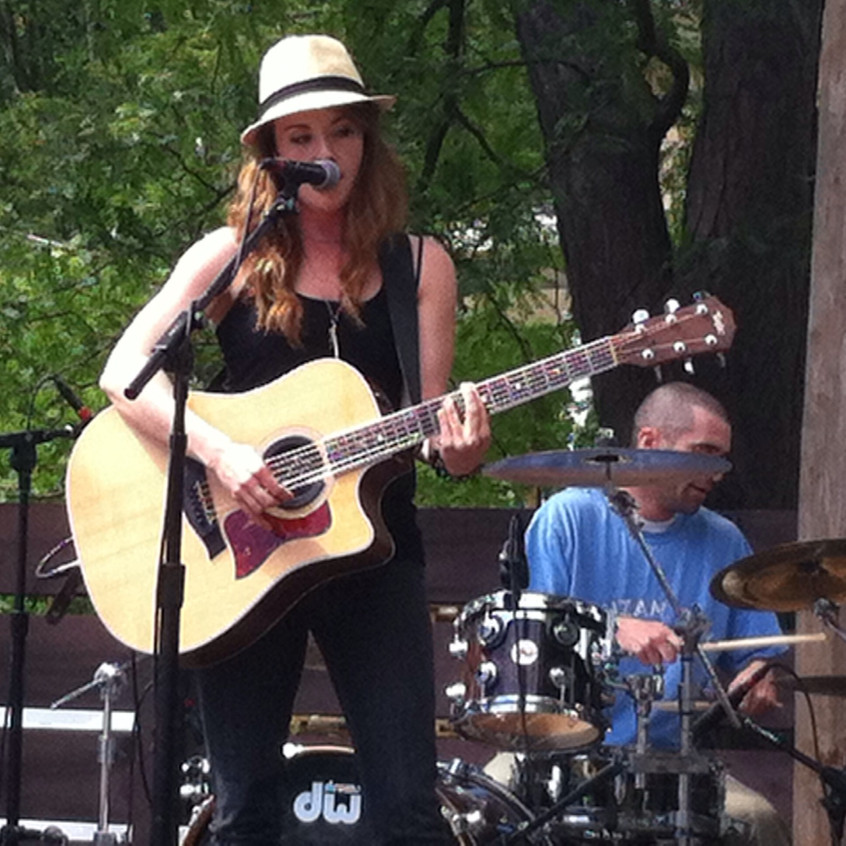 First three piece show #atwoodfest