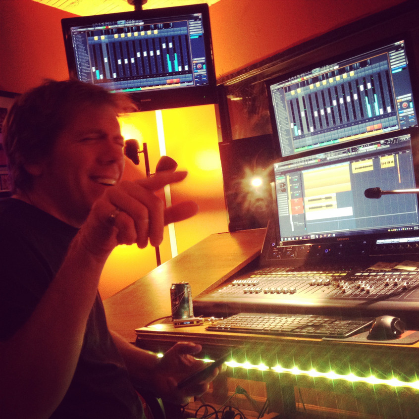 Ordinary day at the Studio w/ Paul