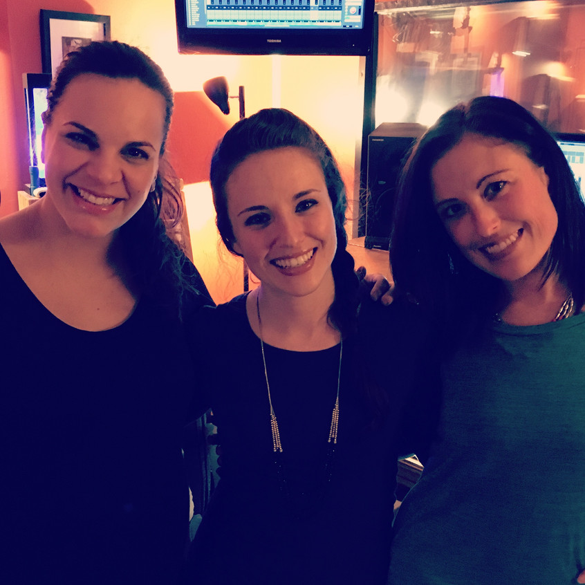 My gurls - Tricia Bisbee (Left) and Laurel Dreager (big sis)