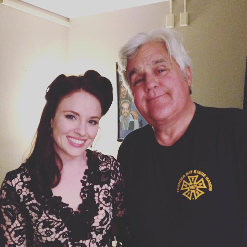 Katie Scullin & Jay Leno
