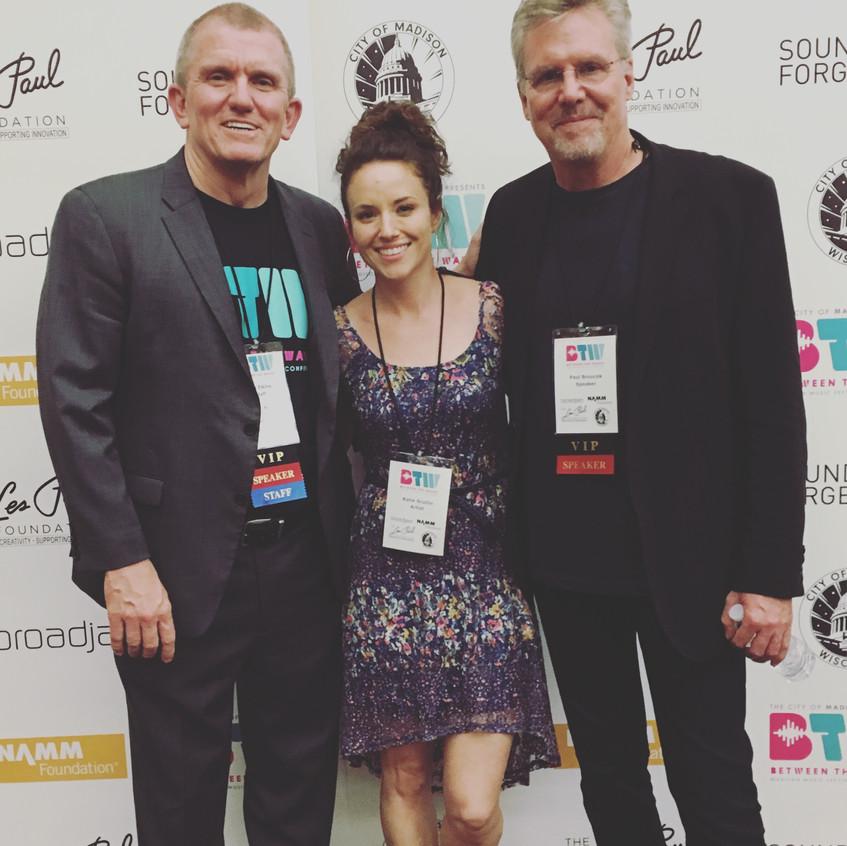 BTW with Roy Elkins of Broad Jam & Paul Bourcek of Warner Bros Music