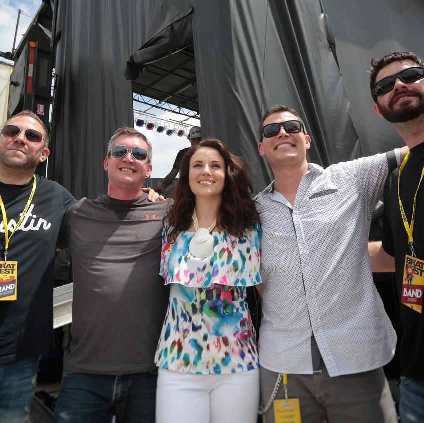 Brat Fest Band - Photo by John Hart