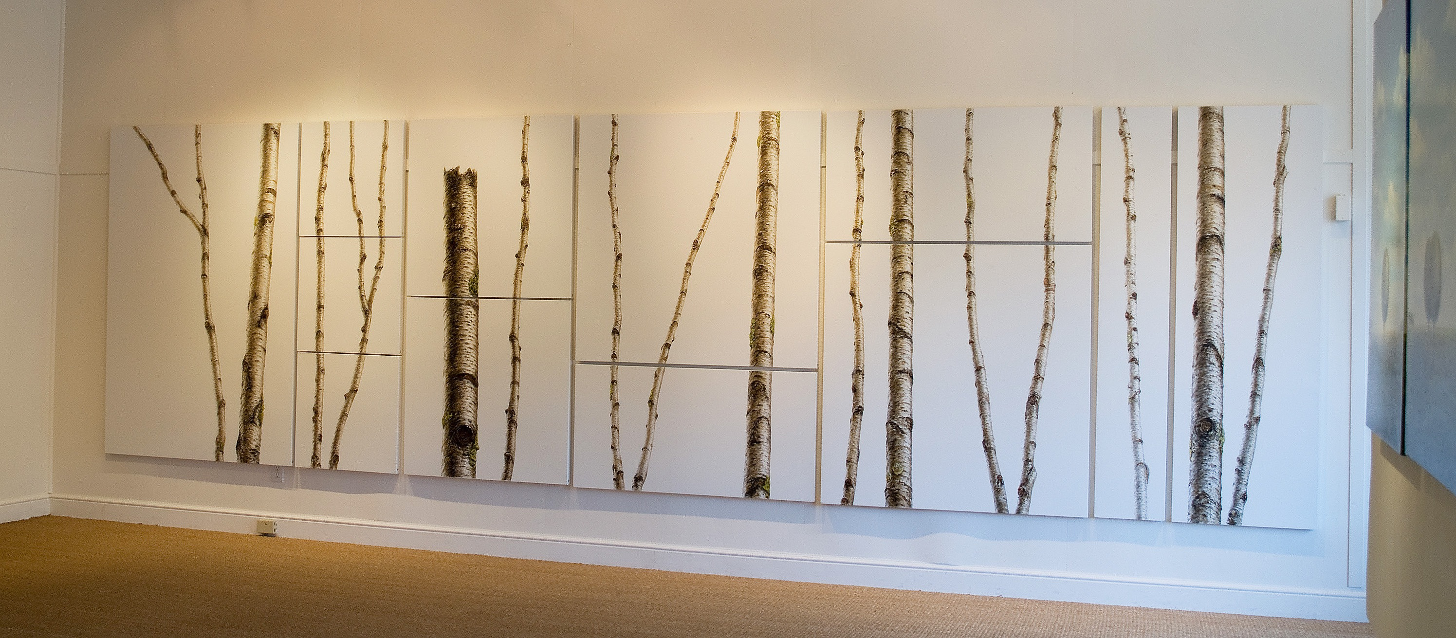 WHITE BIRCH INSTALLATION