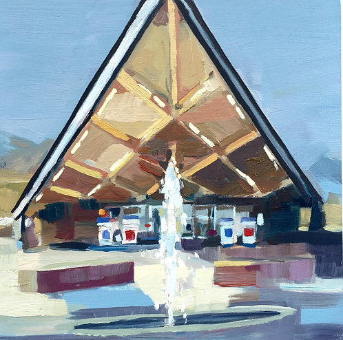 Title: Palm Springs Gas Station