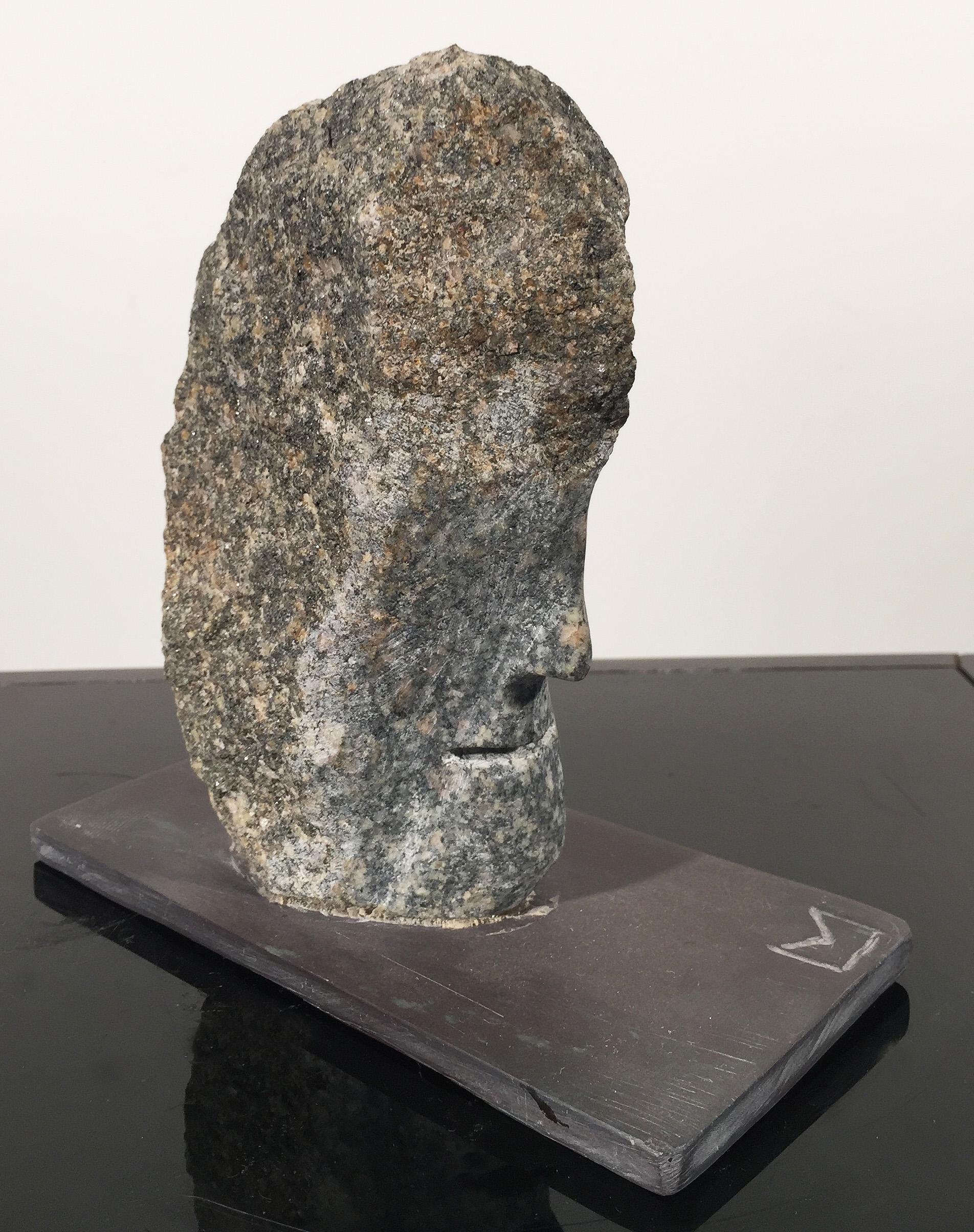 Small Granite Head