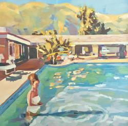Swimming at Mira Loma, 1964