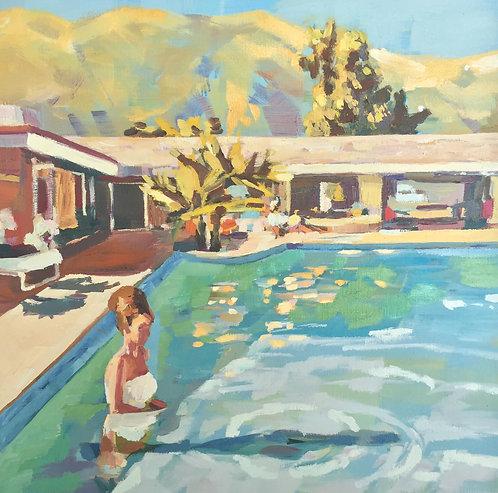 Title: Swimming At Mira Loma 1964