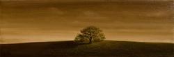 long landscape single oak oil on canvas 36 x 12 low res
