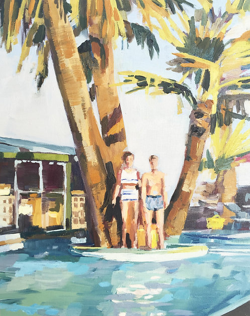 Title: Lone Palm Hotel 1957