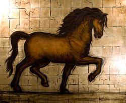 Horse Study oil on canvas 60 x 72