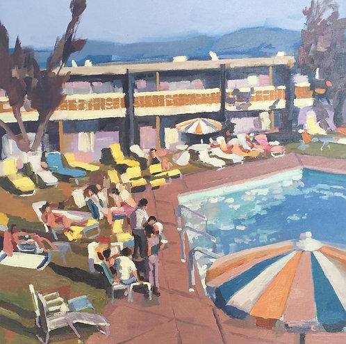 Title: Poolside 1968