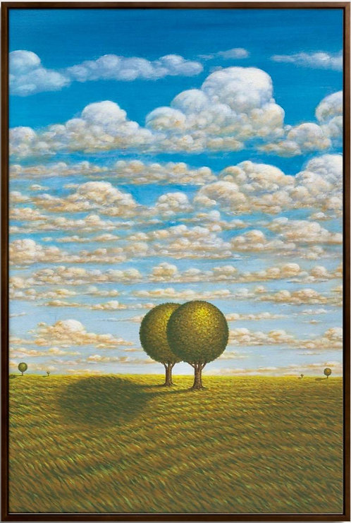 Single Tree / Double Tree Pair - Master Edition canvas art