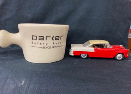 Parker Stoneware Apothecary Shave Mug