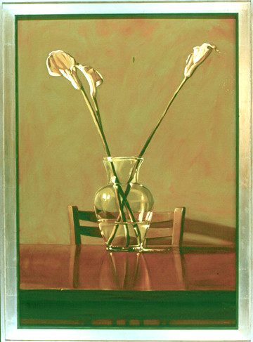 Calla Lilies and Table