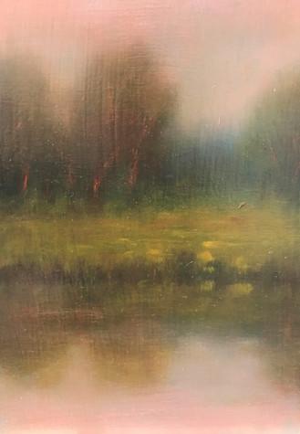 Dusk at Farm Pond