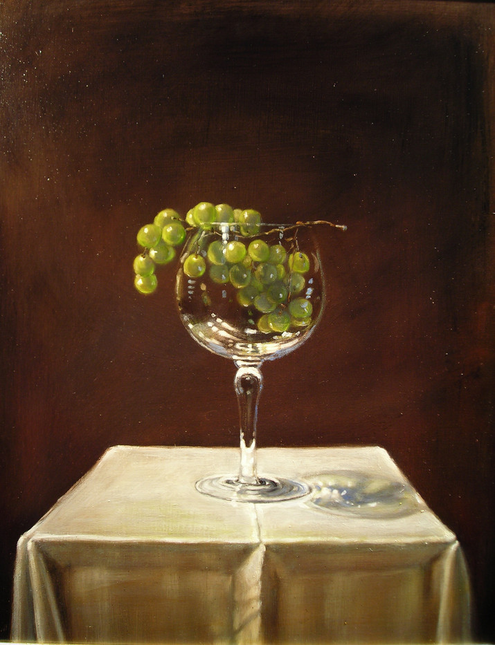 Grapes in Glass