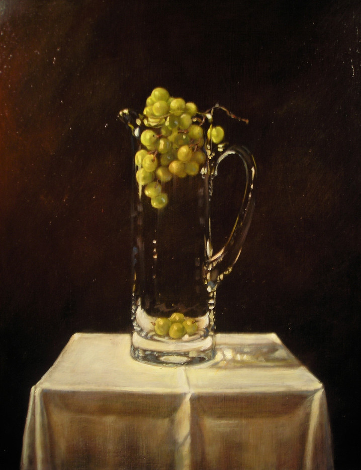 Pitcher and Grapes