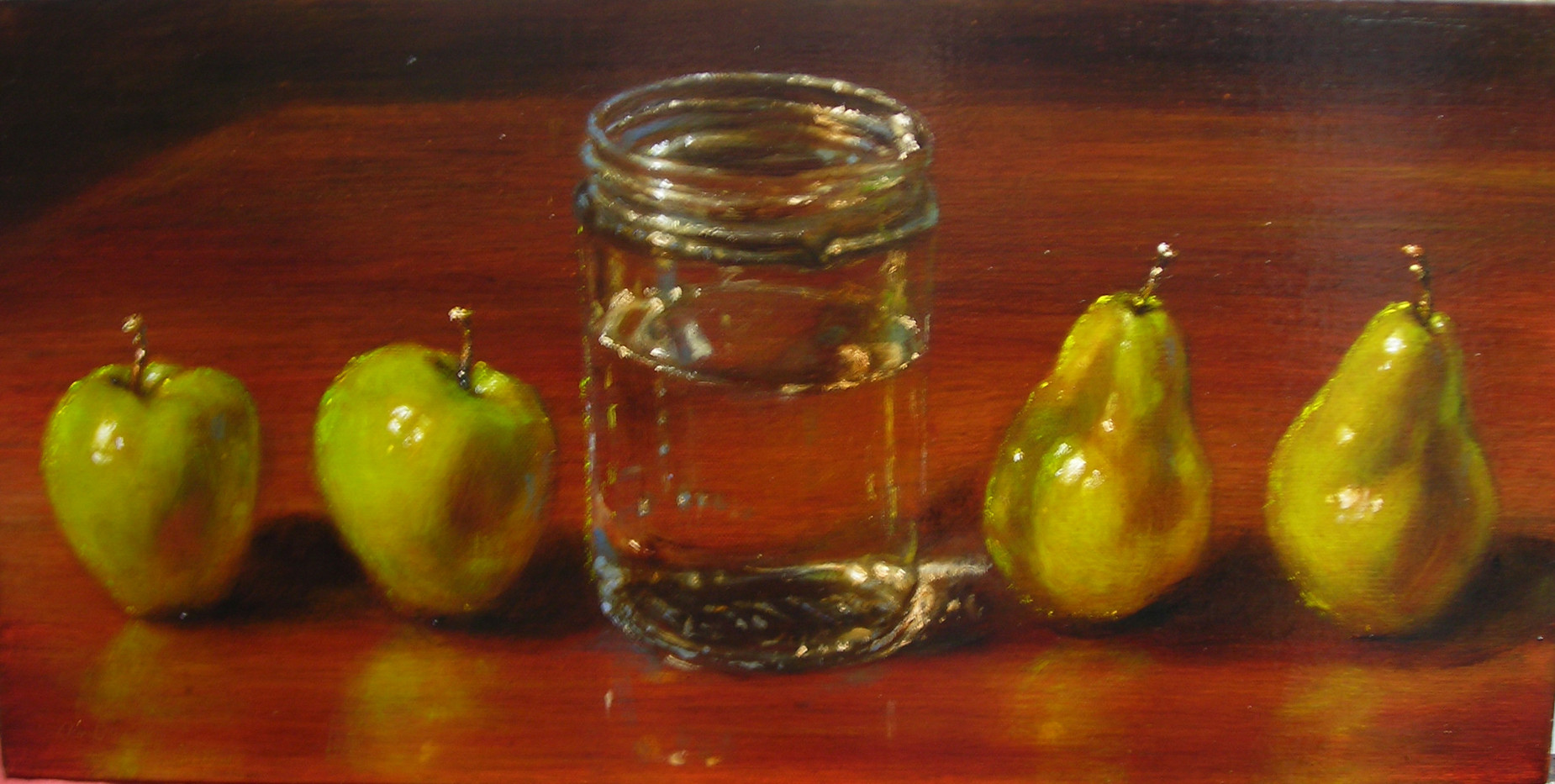 Apples and Jar
