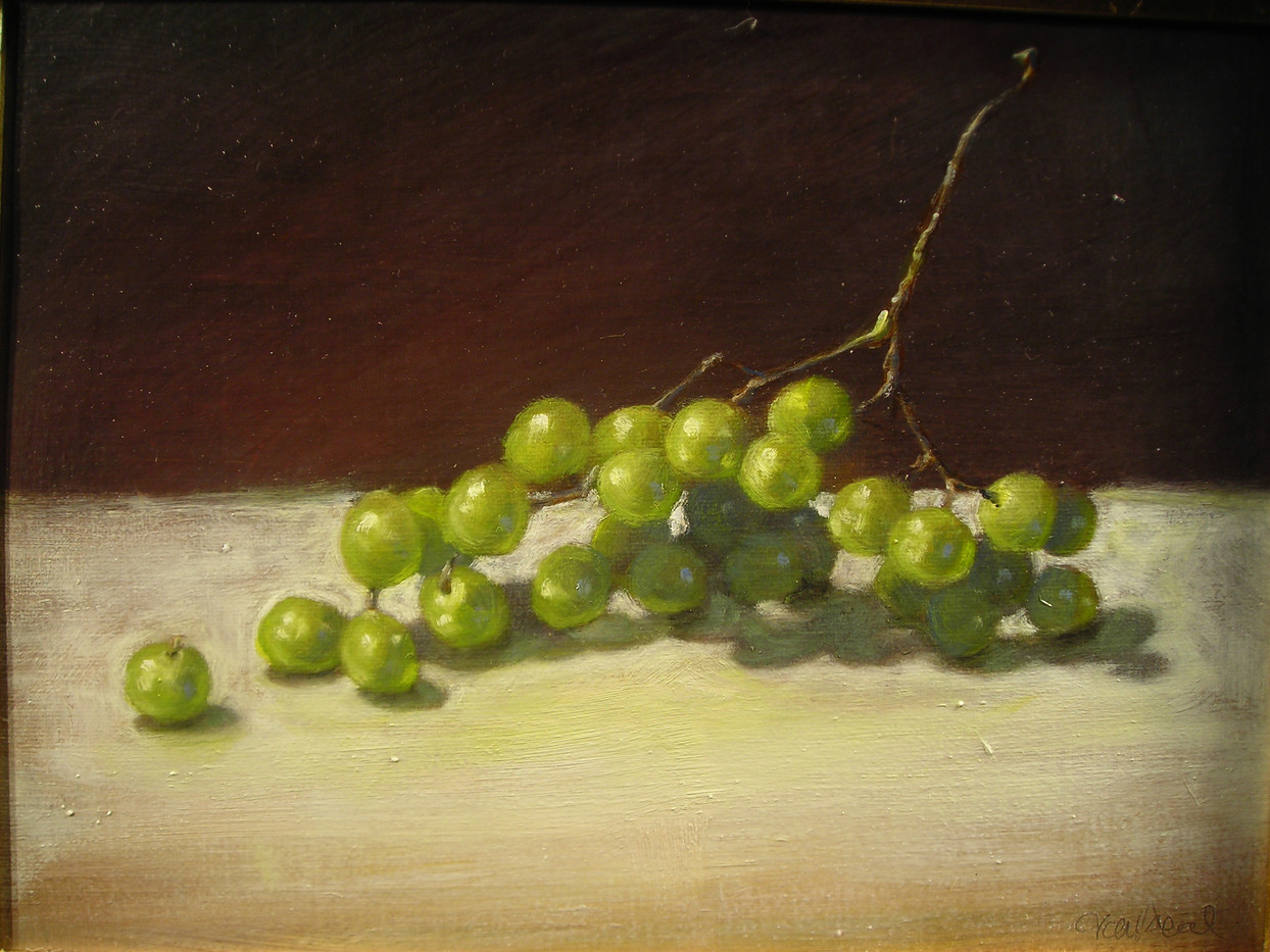 Grapes on Cloth