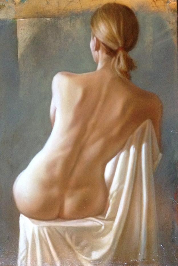 Figure in White #5