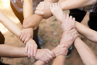 Team Work Concept _ Group of Diverse Han