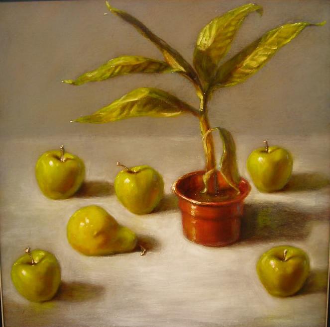 Apples, Pear and Banana Plant