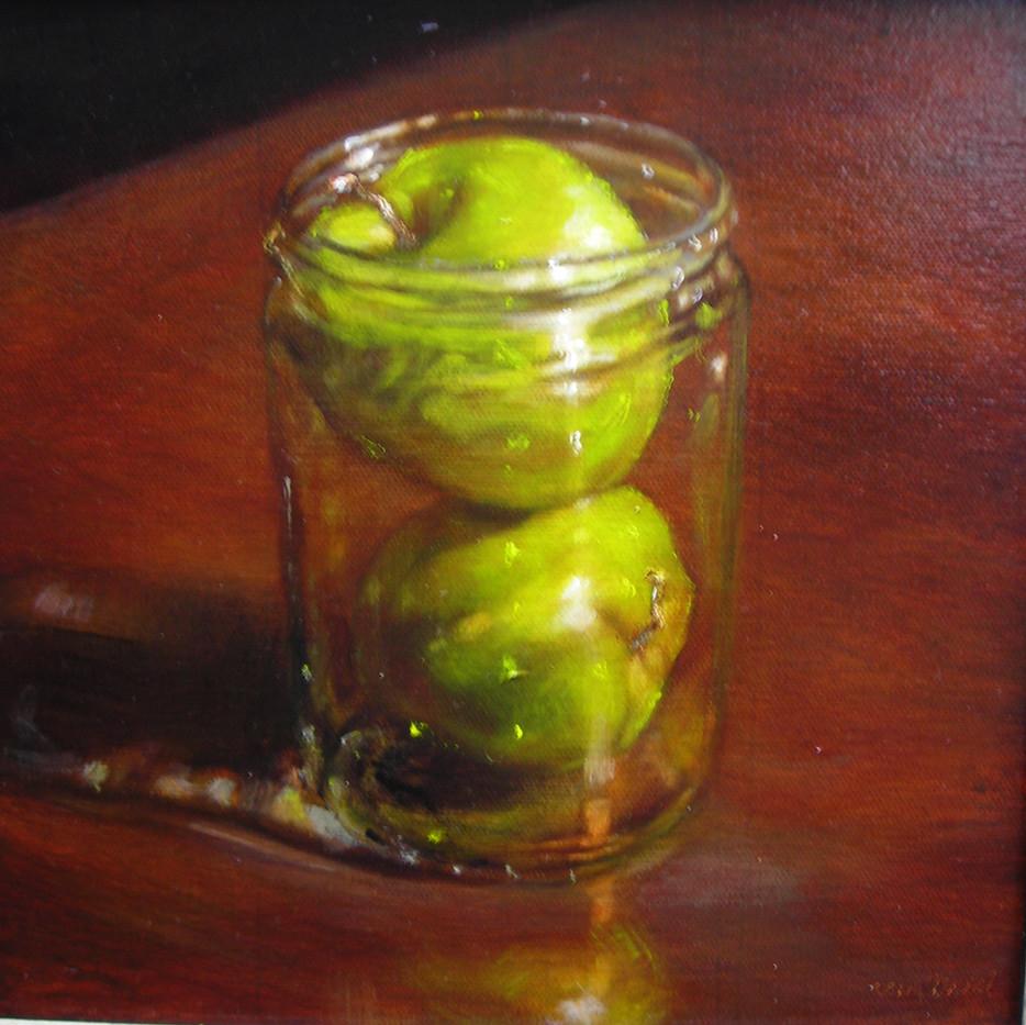 Apples in Jar