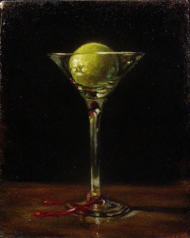 Lime Martini and Ribbon
