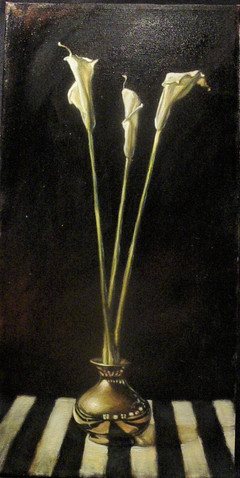 A Gift of Three Calla Lilies 1