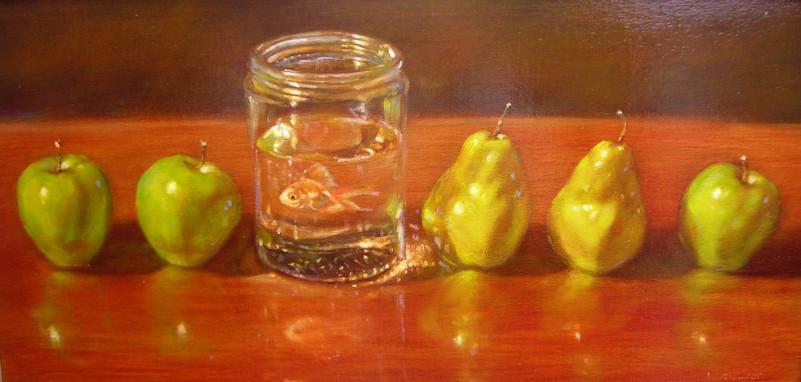 Fish, Pears, Apples