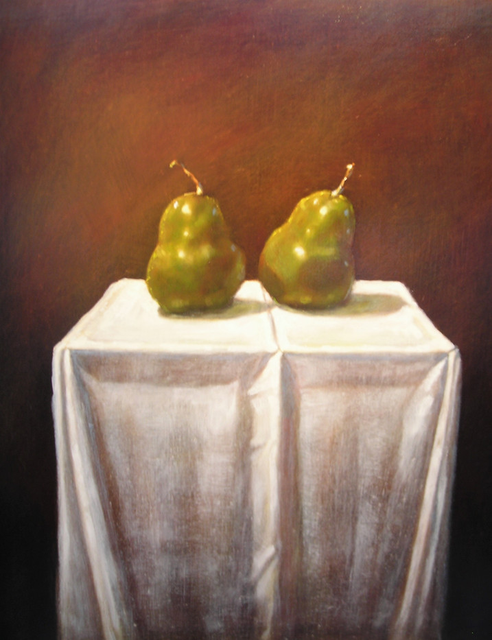 Pears on Table