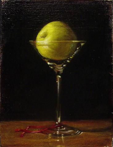 Apple Martini and Ribbon 2