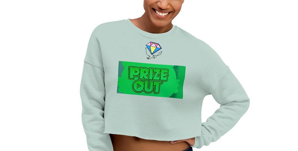 Dia Prize Out Crop Sweatshirt