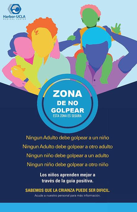 SPANISH - NO HIT ZONE POSTER 11 x17.jpg