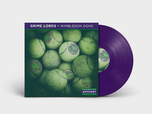 Grime Lords - Wimbledon Dons lp!! TRANSLUCENT PURPLE VINYL!!  NOW SHIPPING!
